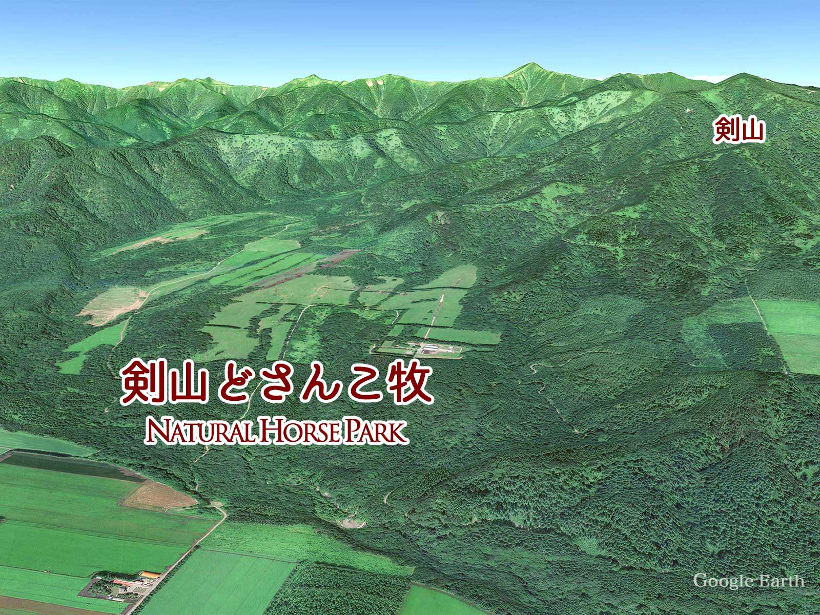 Google earthマップ
